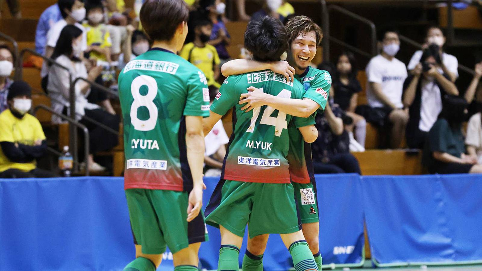 【きょうのスポーツ】Fリーグ第2節、日本代表・室田祐希が北海道に復帰していきなり古巣と対決|フットサル